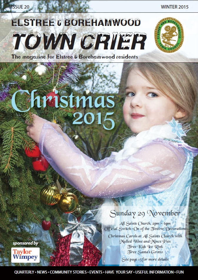 Town Crier 20 Front Page