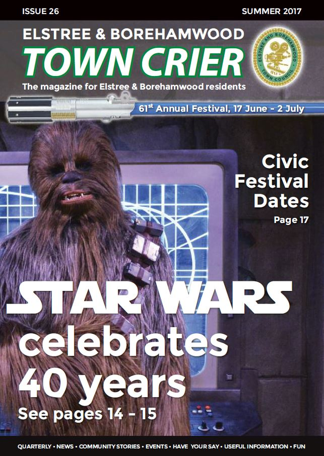 Town Crier 26 Front page