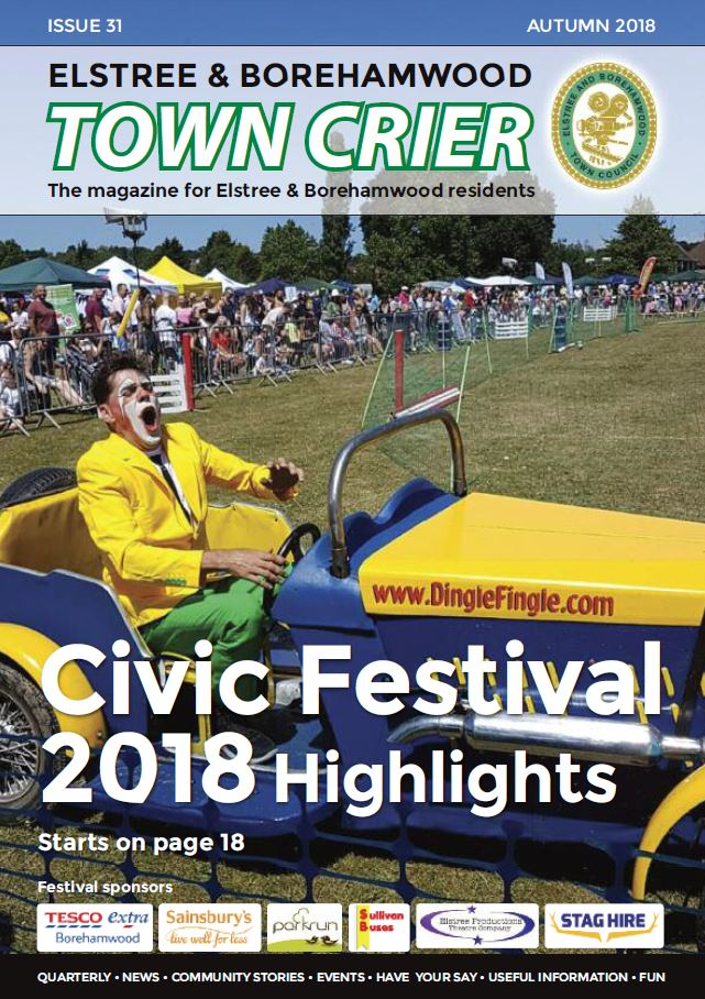 Town Crier Front Cover Issue 31