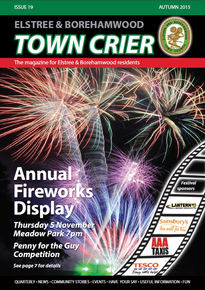 Town Crier issue 19 cover